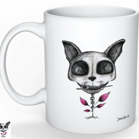 Mug illustré « Chat »