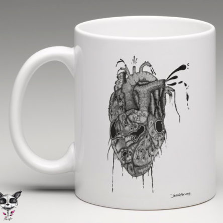 Mug illustré « Heart »