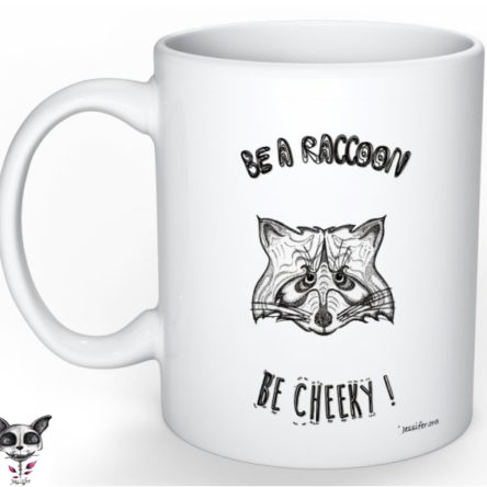 Mug illustré « Raccoon »
